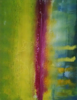"""30"""" x 24"""" washed canvas. Oil and acrylic"""
